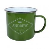 Andrew - Enamel Mug