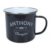 Anthony - Enamel Mug
