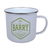 Barry - Enamel Mug