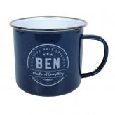 Ben - Enamel Mug