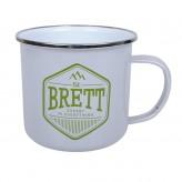 Brett - Enamel Mug