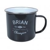 Brian - Enamel Mug