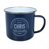 Chris - Enamel Mug