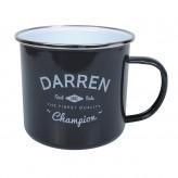 Darren - Enamel Mug