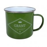 Grant - Enamel Mug