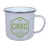 Greg - Enamel Mug