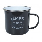 James - Enamel Mug