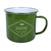 Jason - Enamel Mug