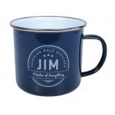 Jim - Enamel Mug