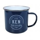 Ken - Enamel Mug