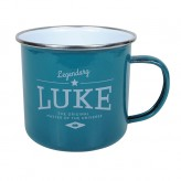 Luke - Enamel Mug