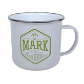 Mark - Enamel Mug