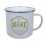Mark - Enamel Mug