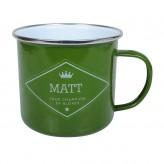 Matt - Enamel Mug