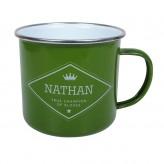 Nathan - Enamel Mug