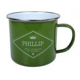 Phillip - Enamel Mug
