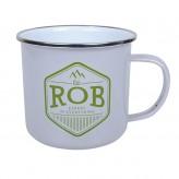 Rob - Enamel Mug