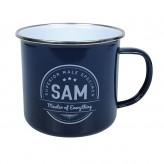 Sam - Enamel Mug