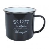 Scott - Enamel Mug