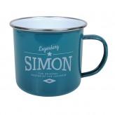 Simon - Enamel Mug