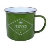 Steven - Enamel Mug