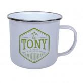 Tony - Enamel Mug