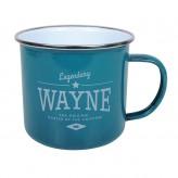 Wayne - Enamel Mug