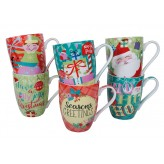 Xmas Mugs - Assorted Designs