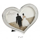 Heart Shaped P/Frame 5x5 - Amore FS43355