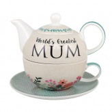 Worlds Greatest Mum - Tea For One