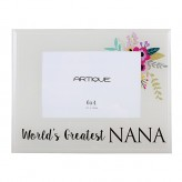 Worlds Greatest Nana Glass Frame - 23x18