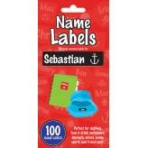 Sebastian - Name Labels