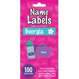 Georgia - Name Labels