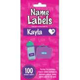 Kayla - Name Labels