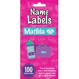 Matilda - Name Labels