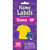 Sienna - Name Labels
