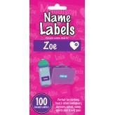 Zoe - Name Labels