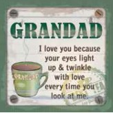 Grandad - Cuppa Coaster