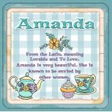 Amanda - Cuppa Coaster