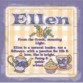 Ellen - Cuppa Coaster