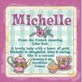 Michelle - Cuppa Coaster