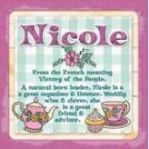 Nicole - Cuppa Coaster