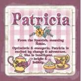 Patricia - Cuppa Coaster