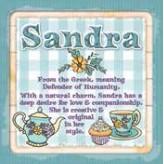 Sandra - Cuppa Coaster