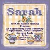 Sarah - Cuppa Coaster