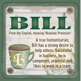Bill - Cuppa Coaster