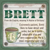 Brett - Cuppa Coaster