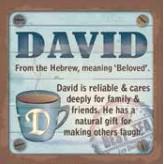 David - Cuppa Coaster