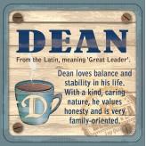 Dean - Cuppa Coaster