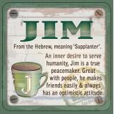 Jim - Cuppa Coaster